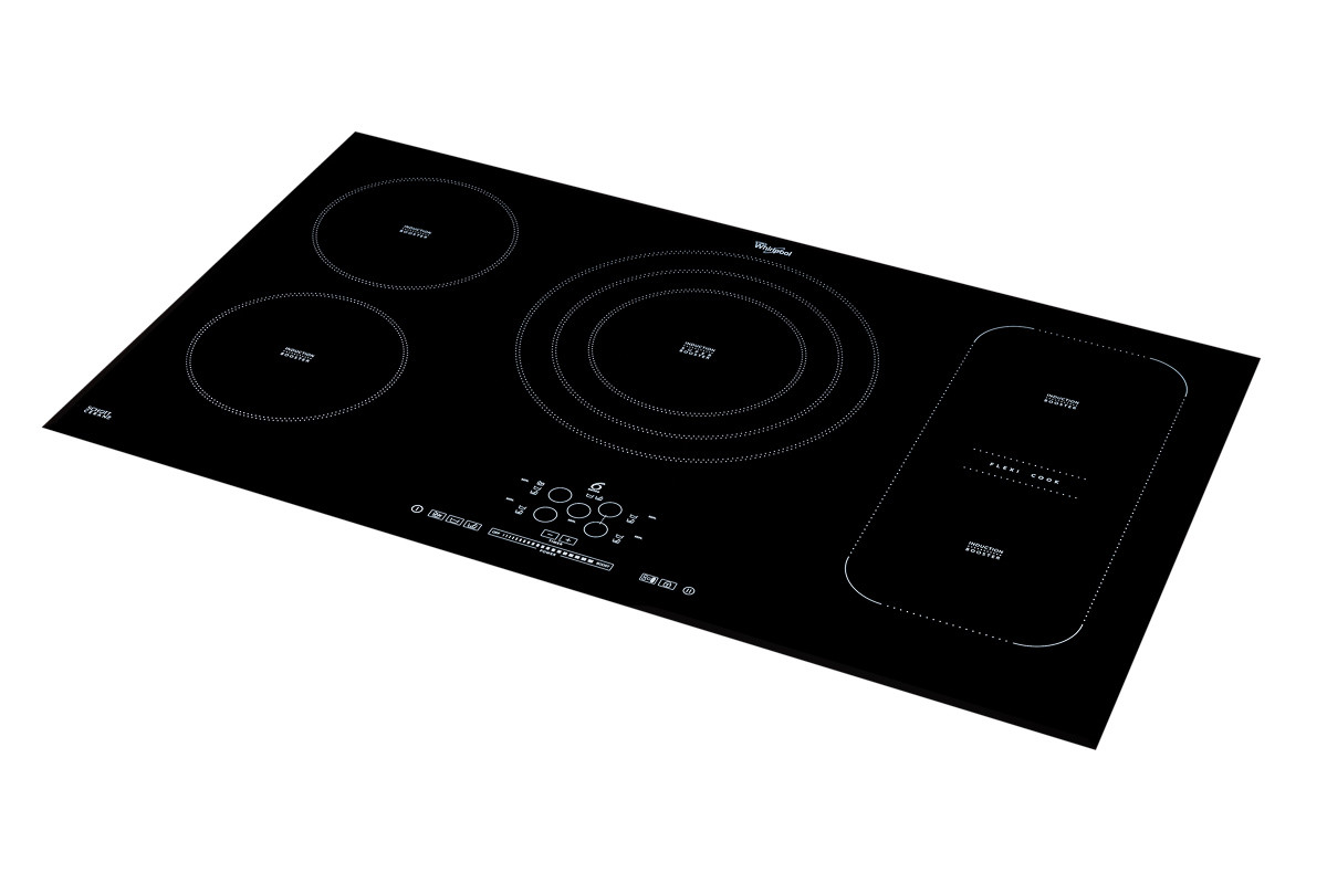 Induction cook-top 45 angle left angled product shot