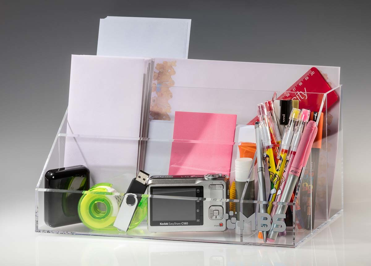Acrylic storage Office Teenager stationary