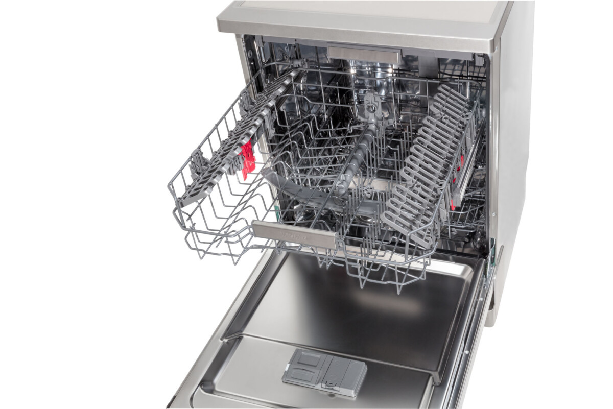 Advertising Product photography of whirlpool Top Upper tray movement 2