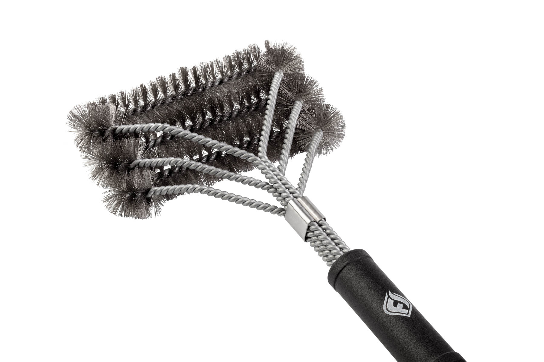 BBQ Brush closeup of head on white background for Amazon site