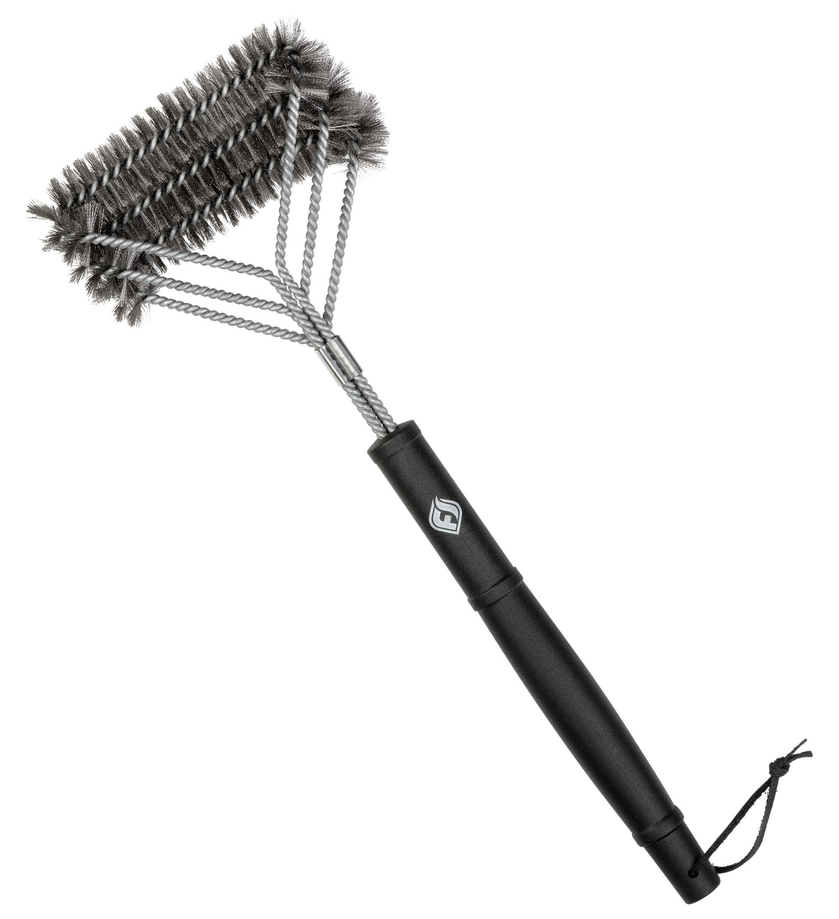 BBQ Brush full front-on photo - Main product photo for Amazon site
