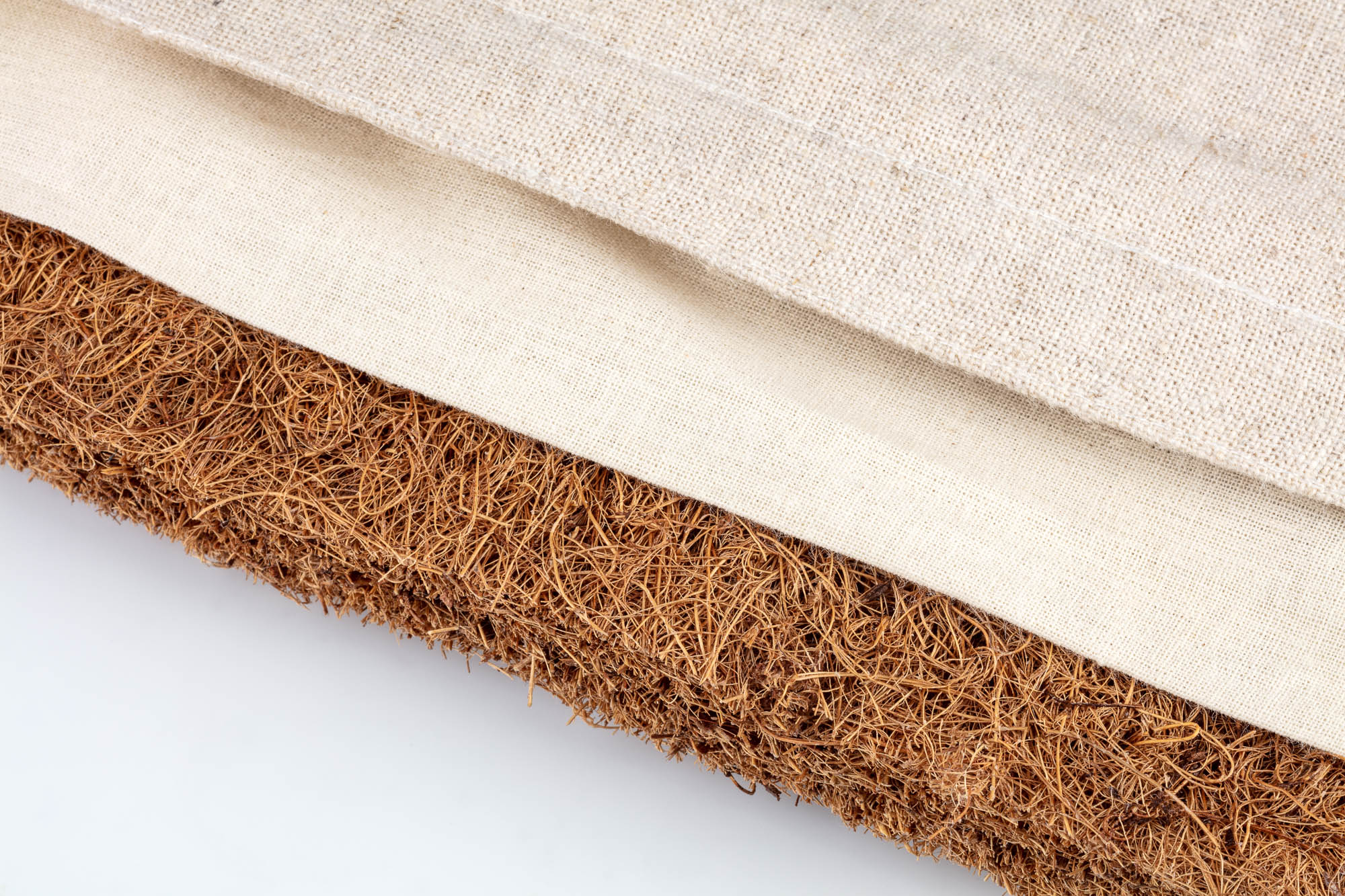 Be Zen Linen cotton and coconut fibres - Product photo for Amazon e-comemrce