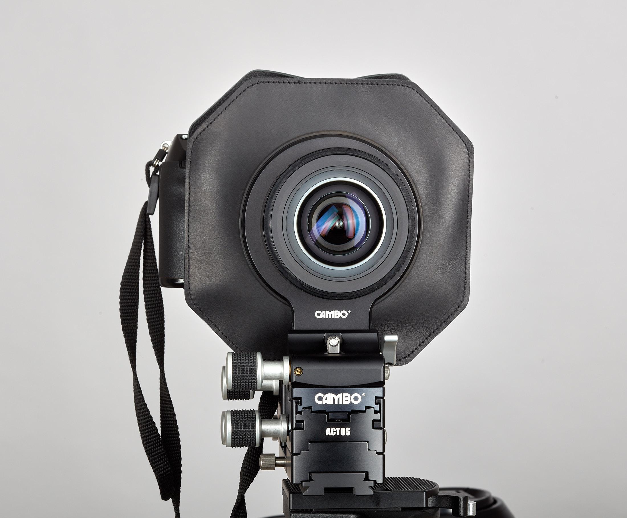 Cambo Actus movements lens rotation