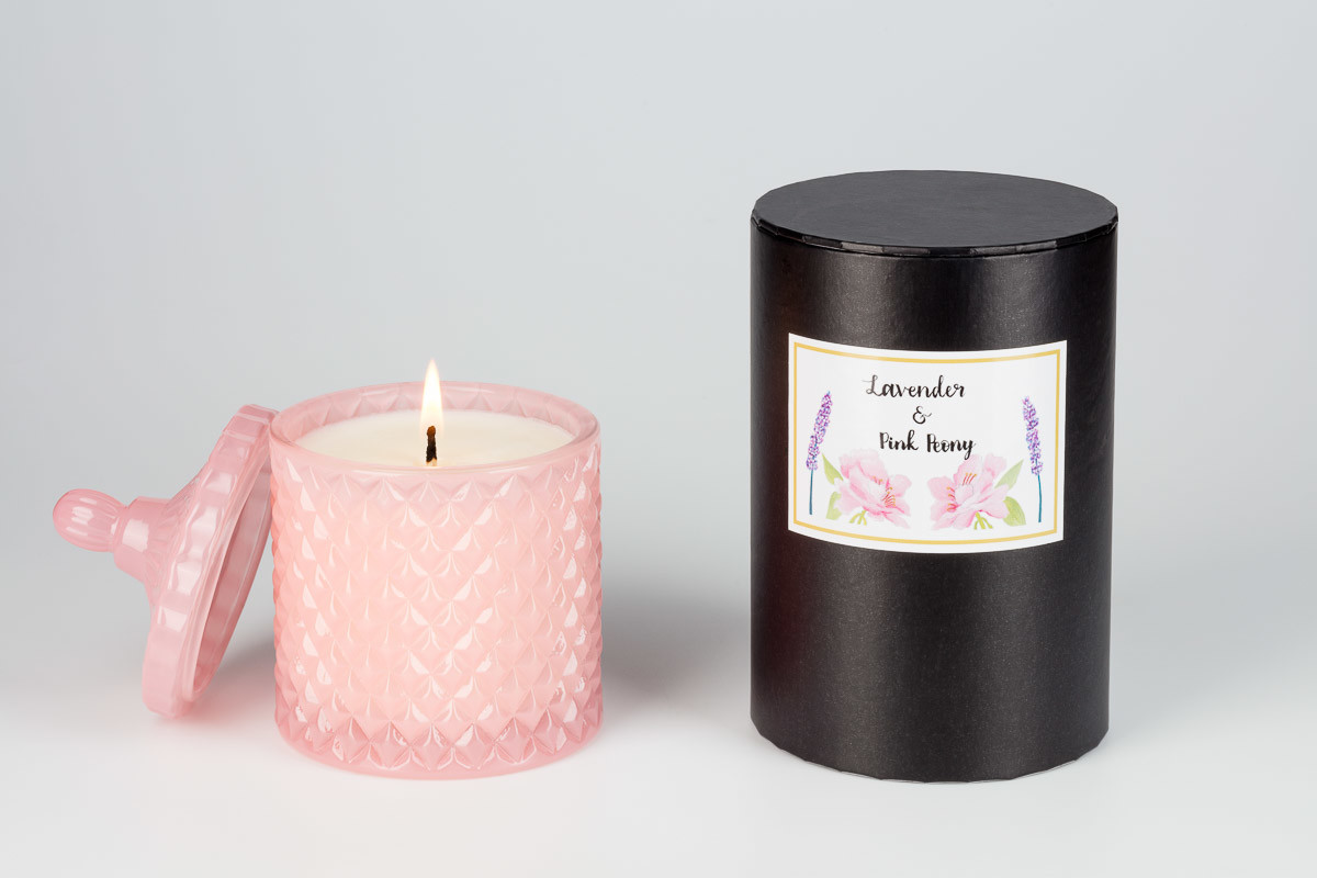 Pink candle pink Peony