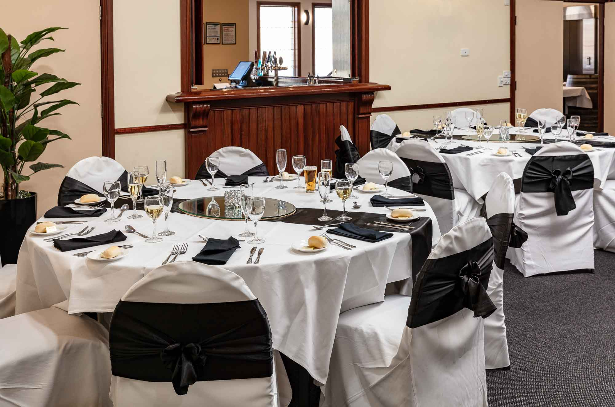 Commercial photography sample - Wantirna Club party and Receptions room