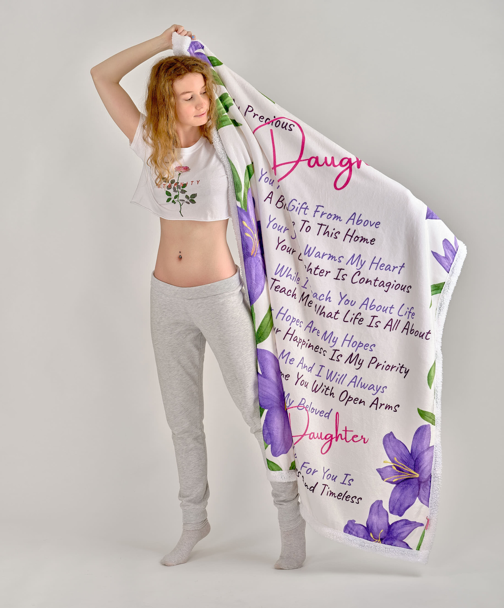 Daughter Blanket - Advertising Product Photography