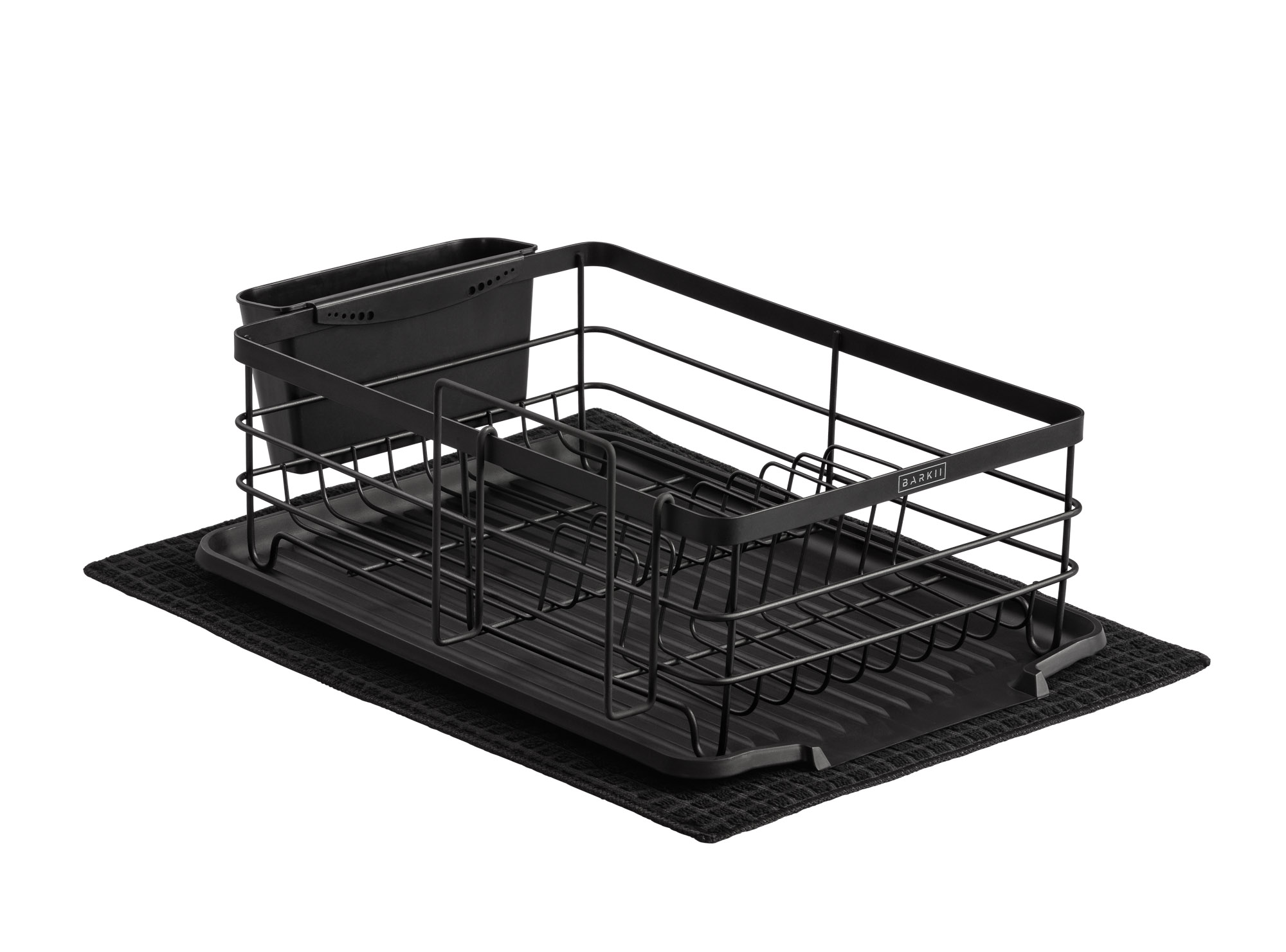 Dish Rack All parts - Less large cutlery container - Product photo for Amazon