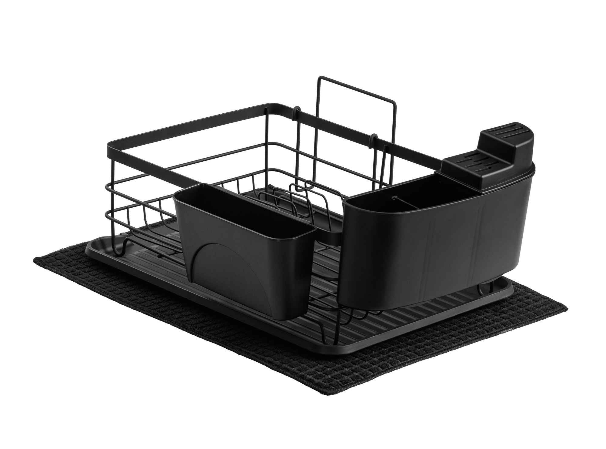 Dish Rack All parts - Main photo Reverse view - Product photo for Amazon