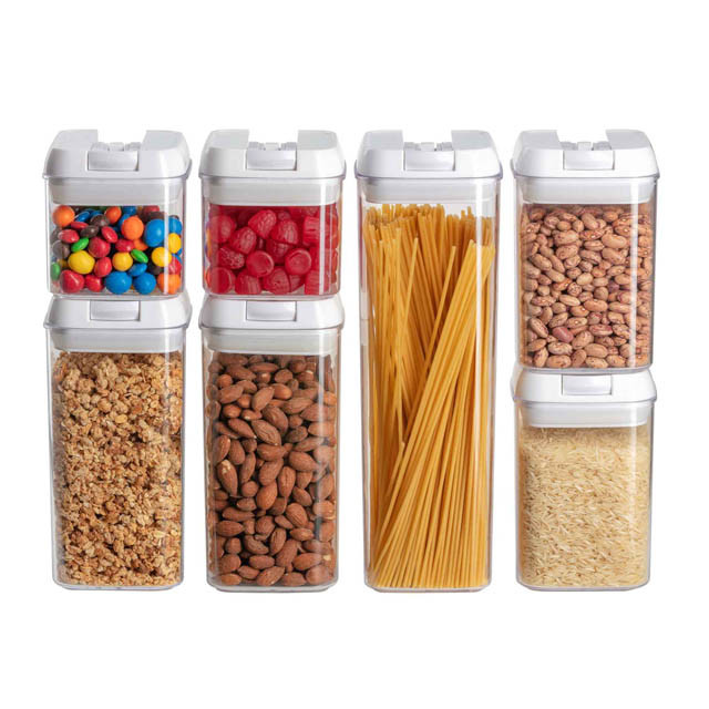 Food container set of 7 - sample of product photography 640px