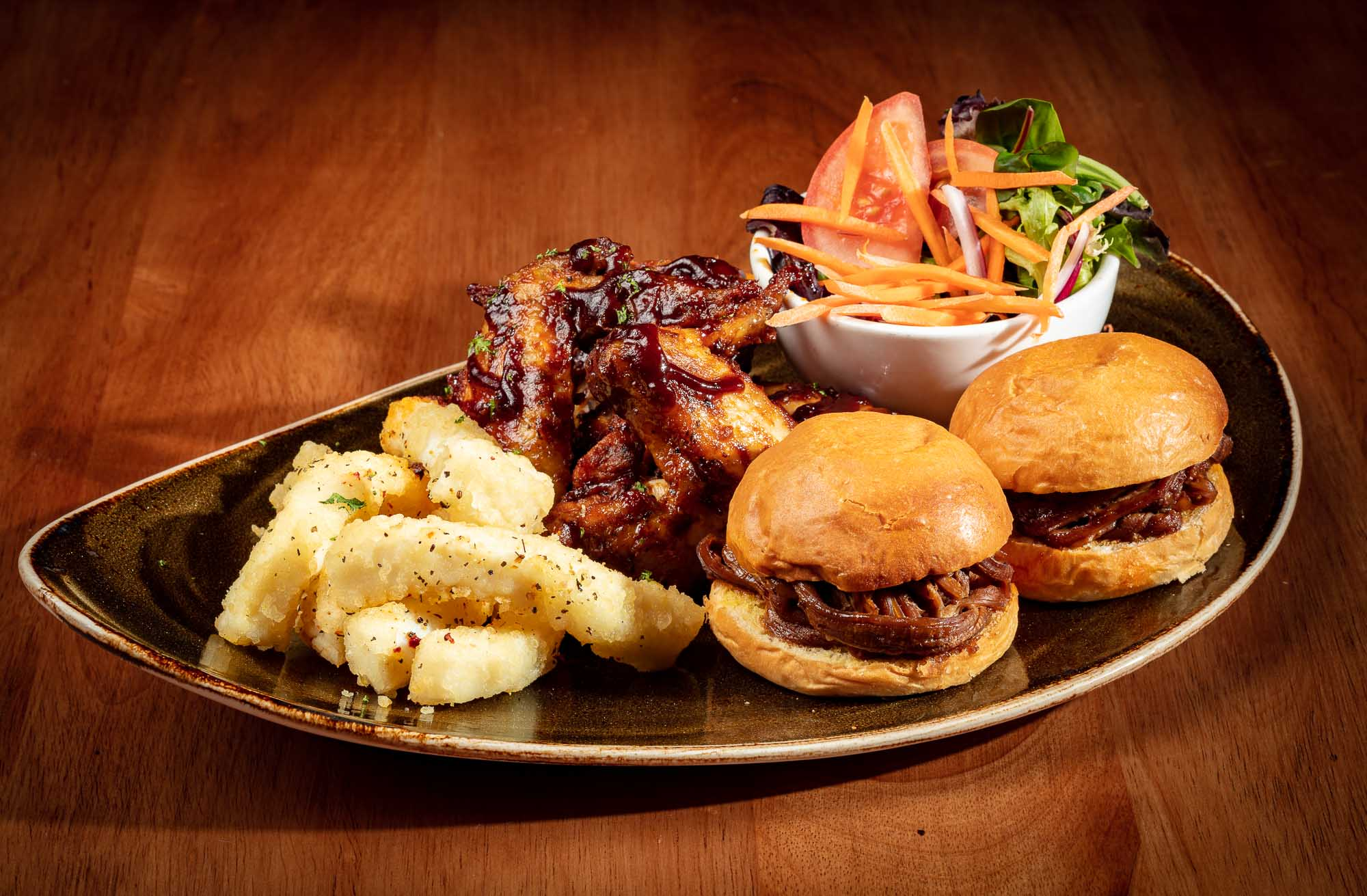 Food photography sample - Food plater 7