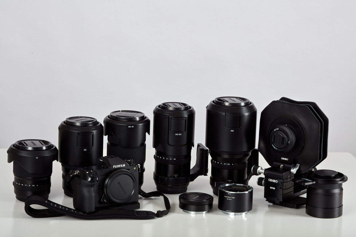 Fujifilm gear_Cameras and lenses