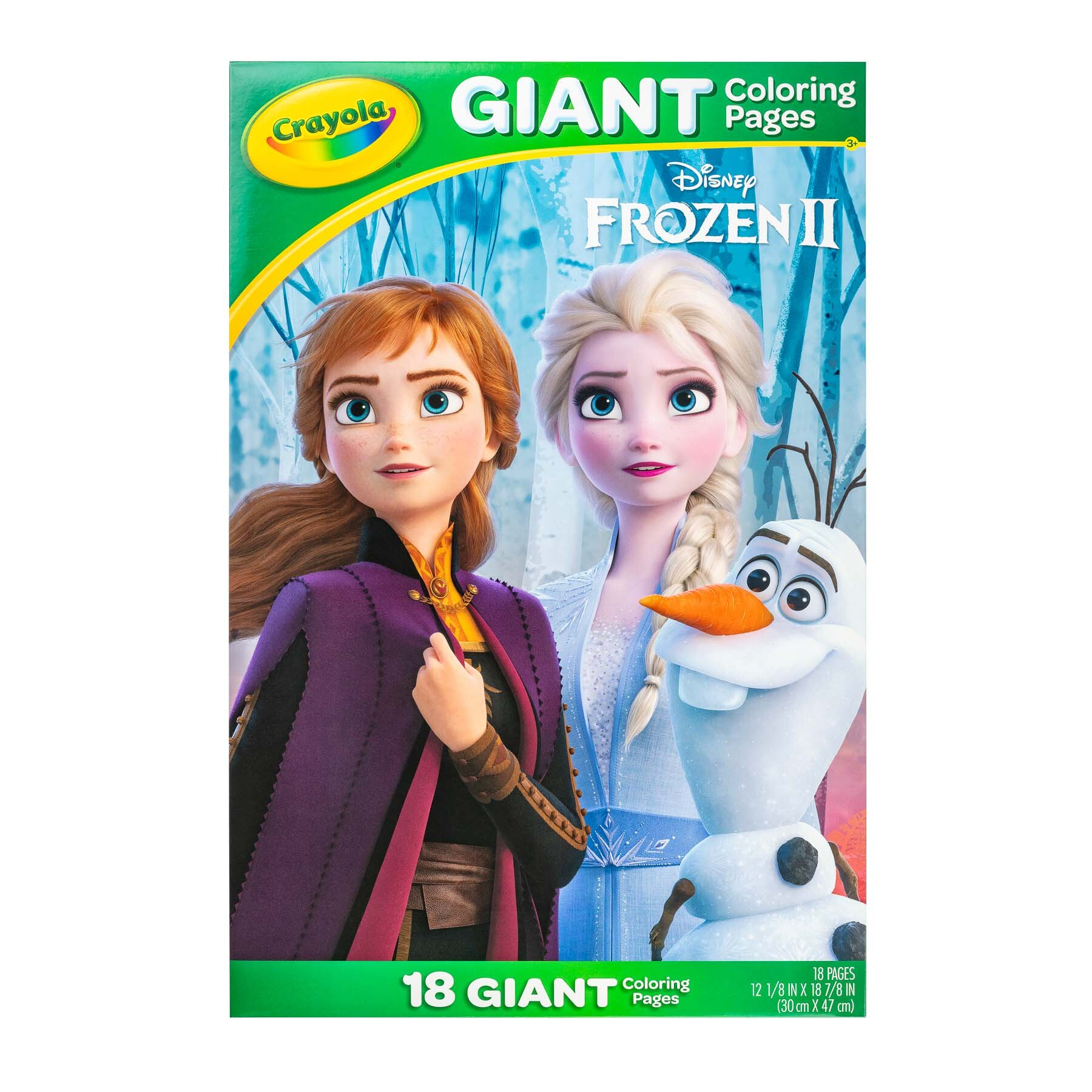Giant Coloring Pages Frozen II Front Books and publication - product photography sample