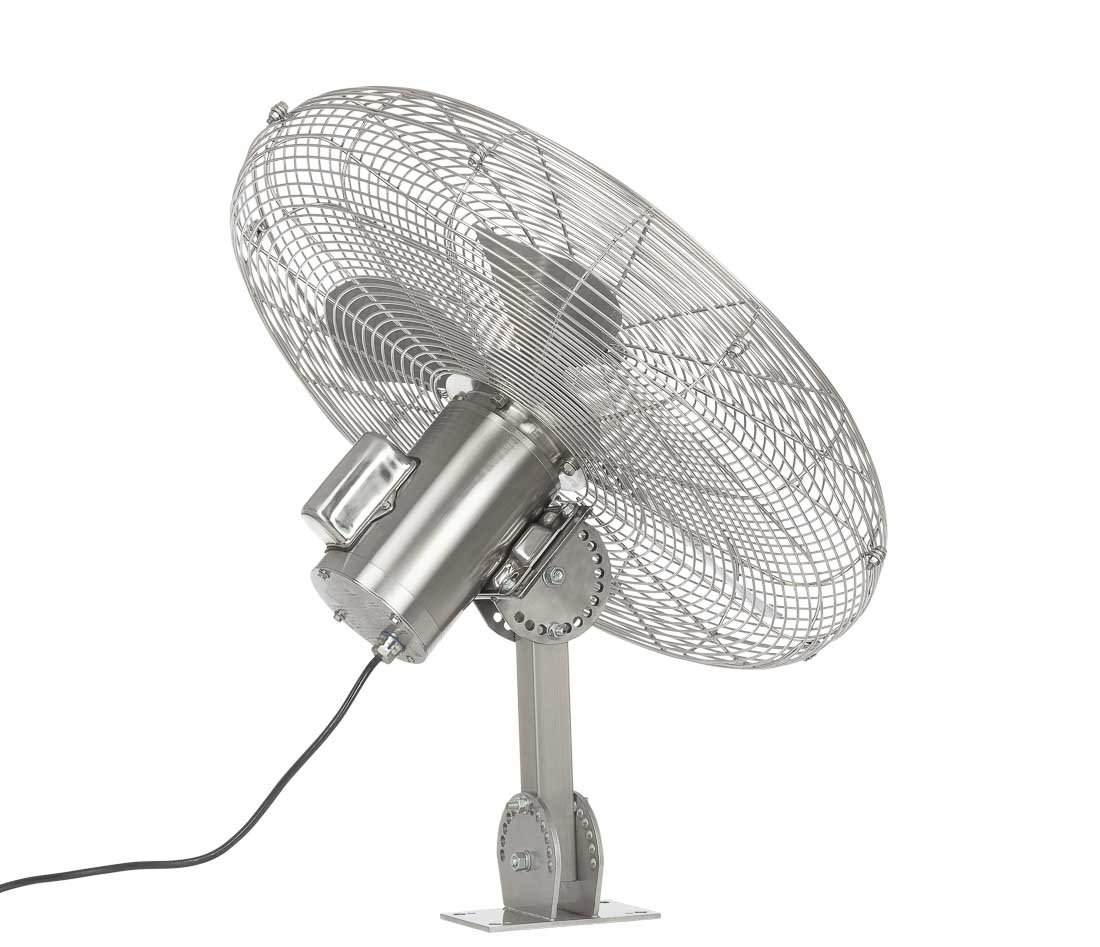 Industrial water and heat resistant fan_Fantech HYWY71B4 Angle back view looking up5