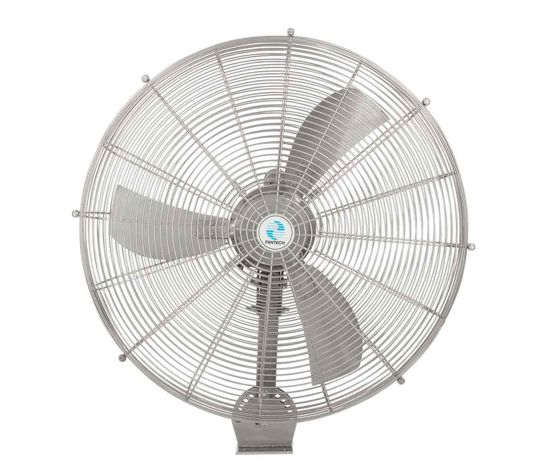 Industrial water and heat resistant fan_Fantech HYWY71B4 Front view3