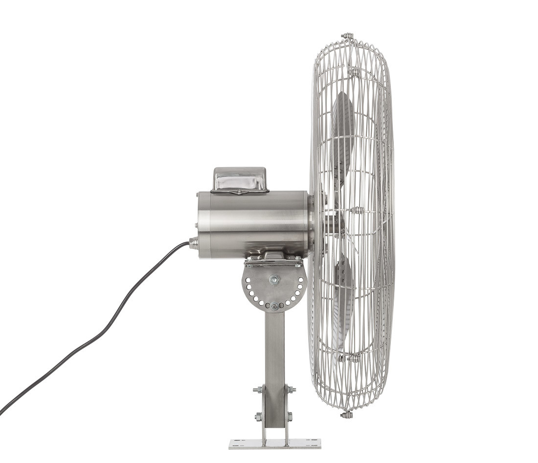 Industrial water and heat resistant fan_Fantech HYWY71B4 Right view4