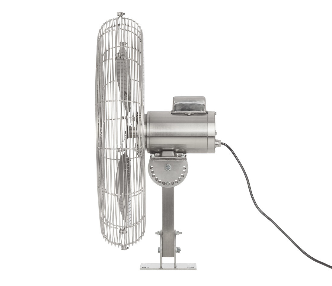 Industrial water and heat resistant fan_Fantech HYWY71B4 left view2