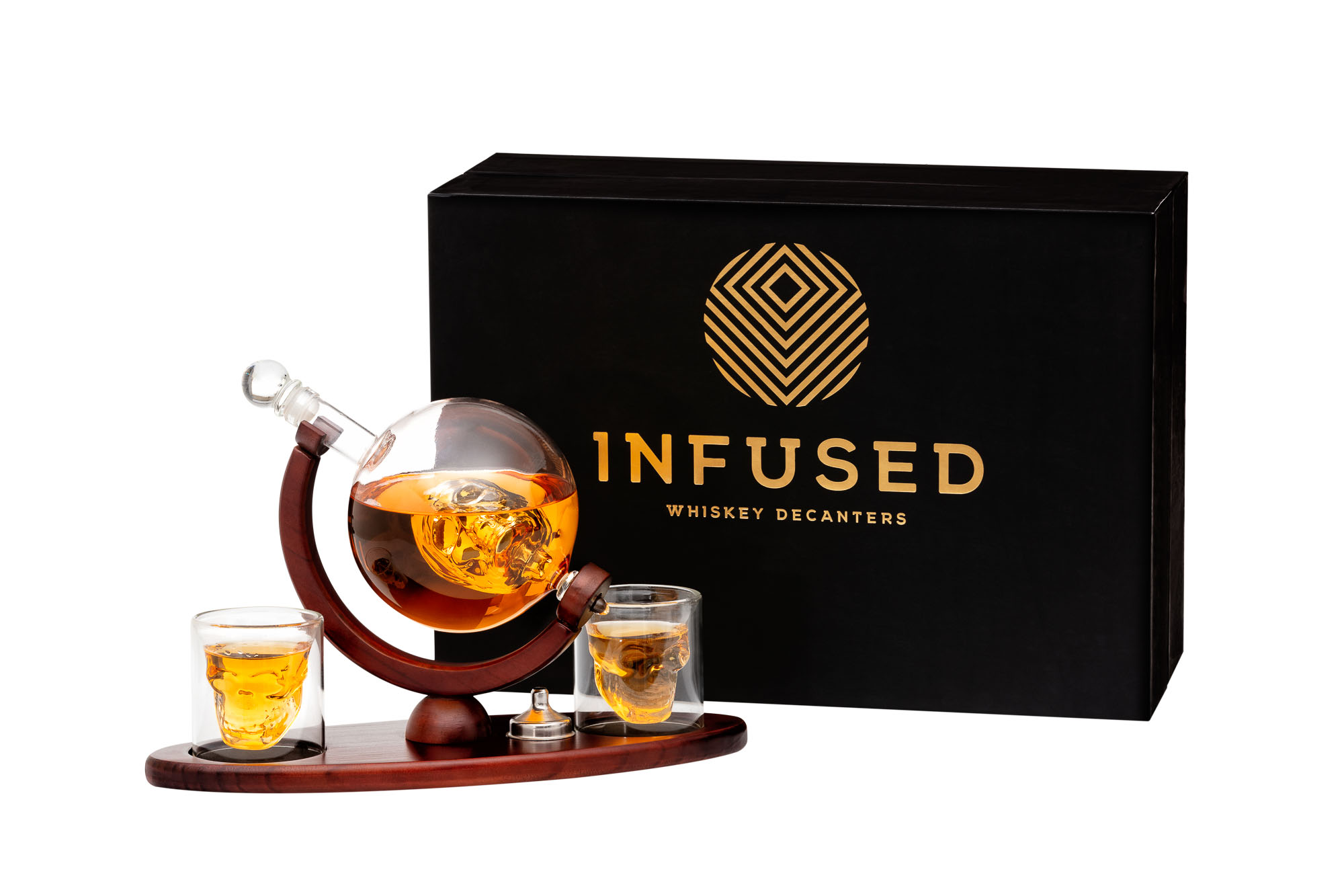 Infused Main Amazon Photo with Whisky - Sample of Product Photography for Amazon