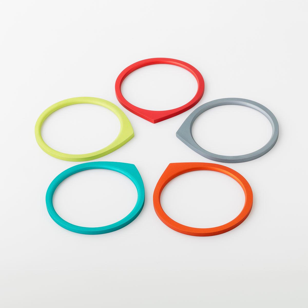 Kalinowski Jewellery 2017 collection set of bracelets multiple colours