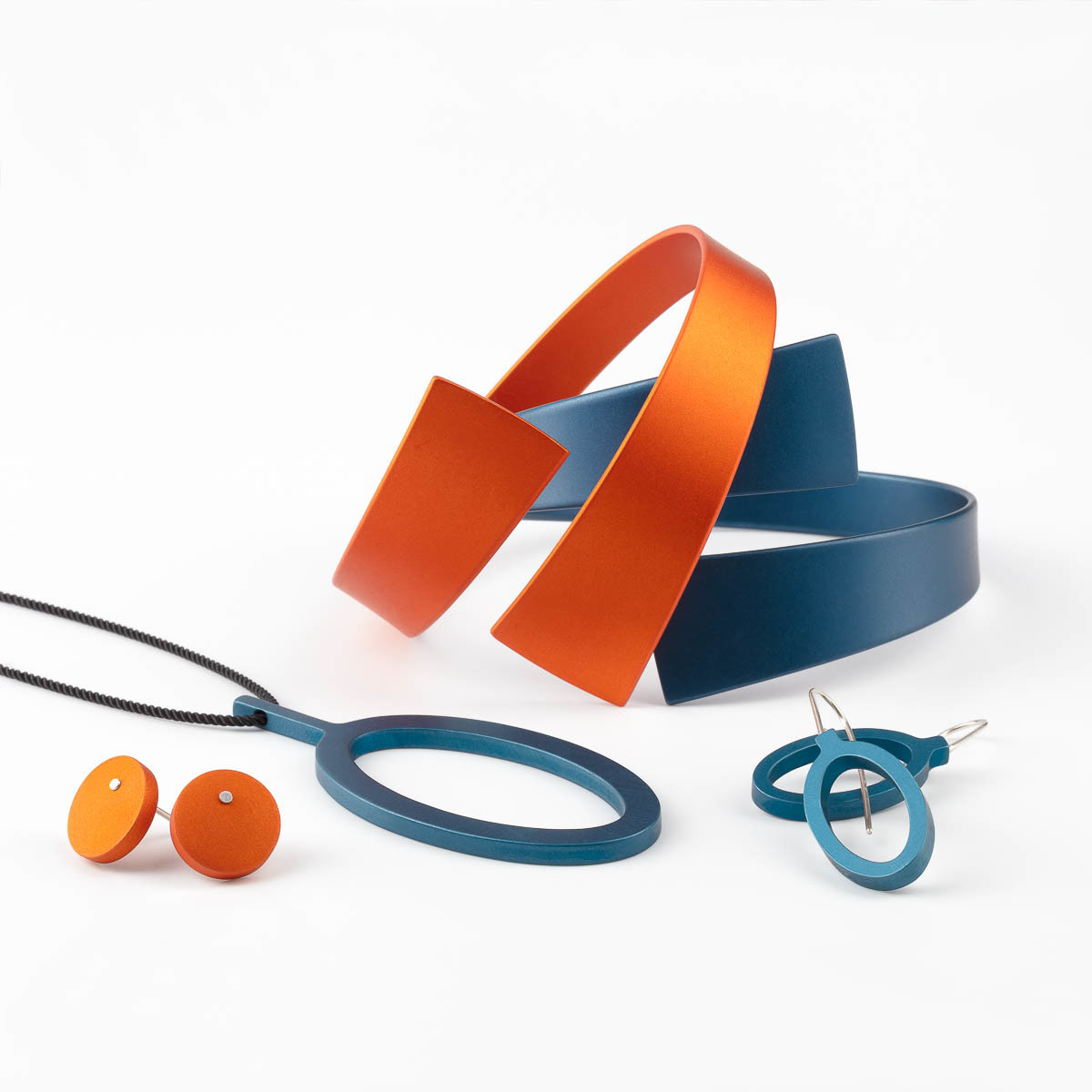 Kalinowski Jewellery 2018 collection_Blue and orange