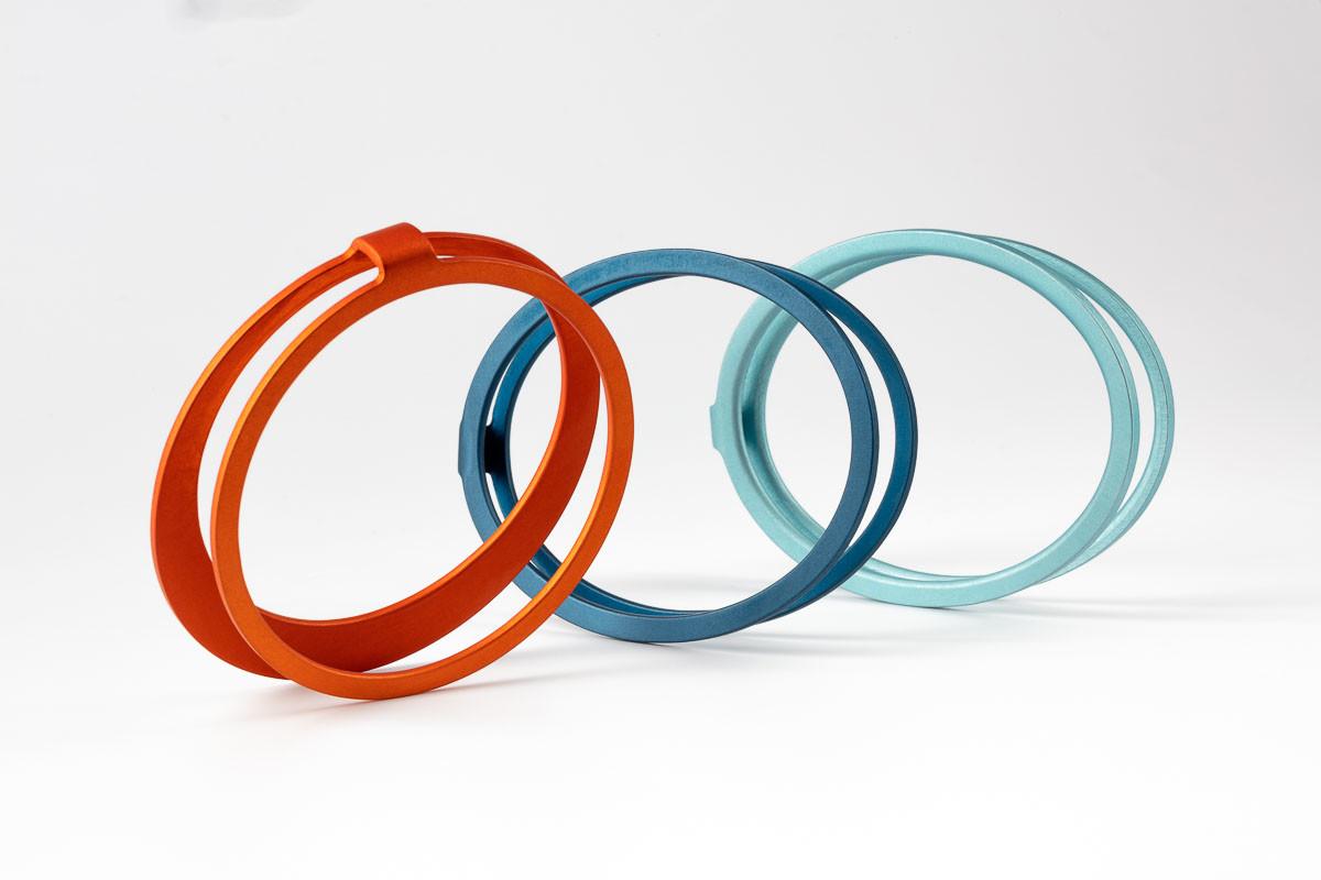 Kalinowski Jewellery 2018 collection_New parallel bracelets