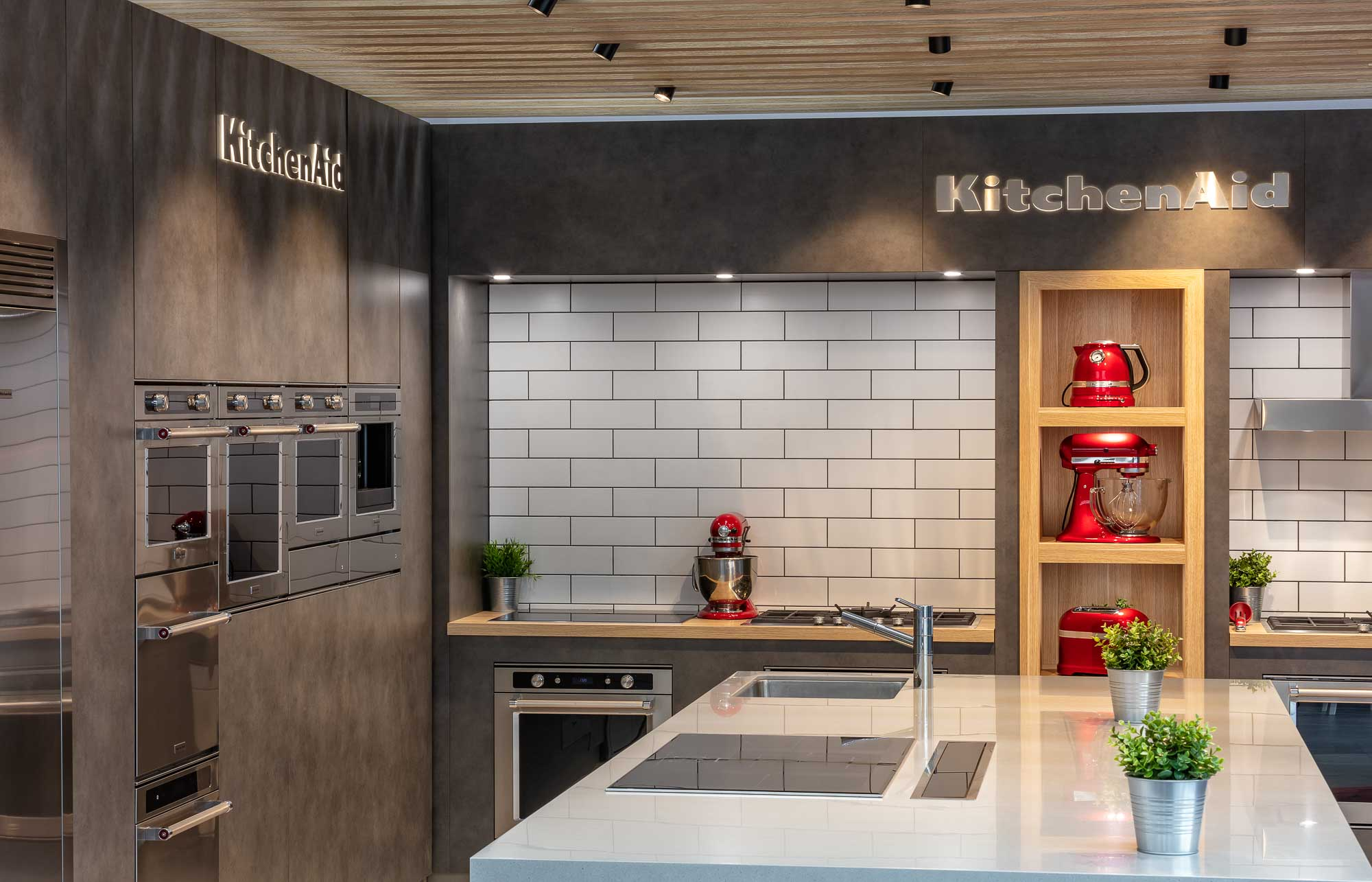 Kitchenaid display showroom - Commercial Photography