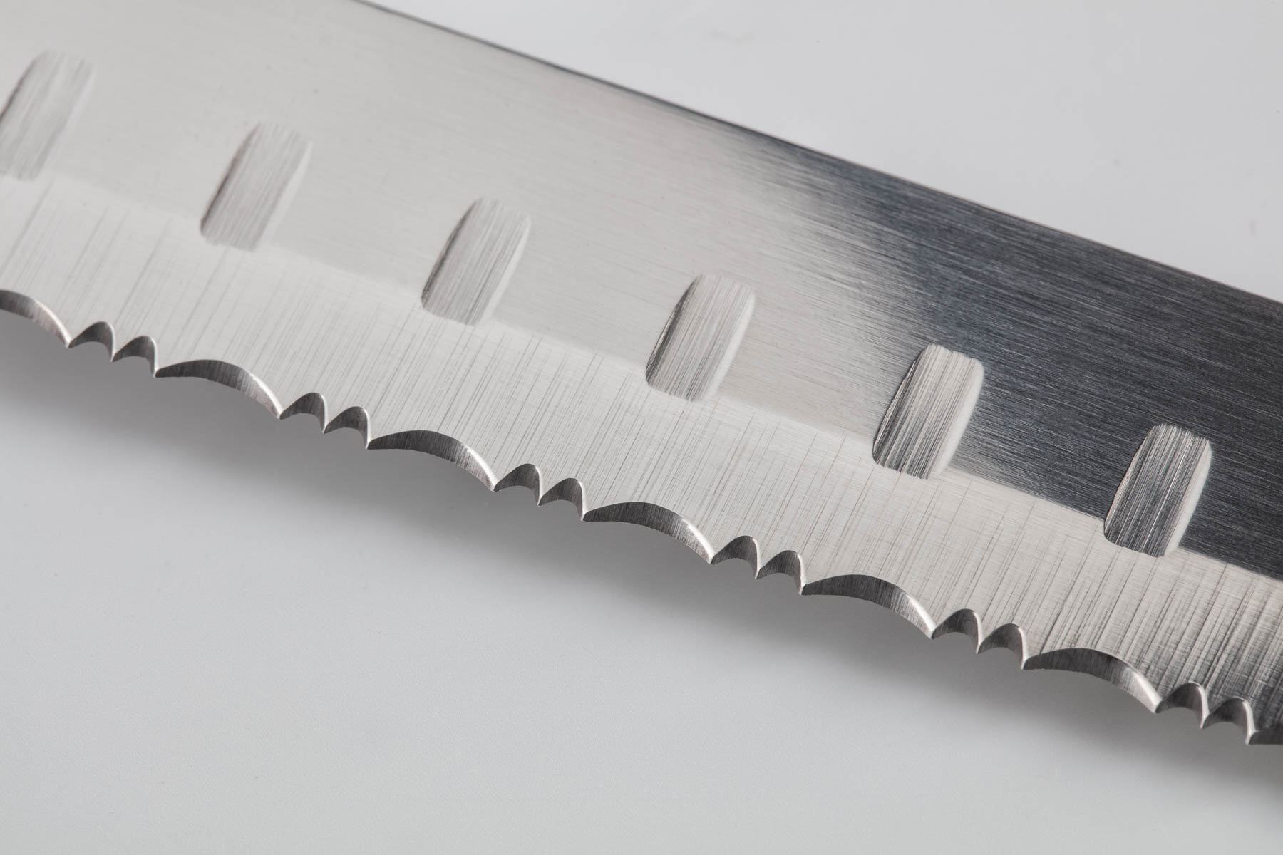 Longer Knife Blade Closeup View - Sample of closeup product photography