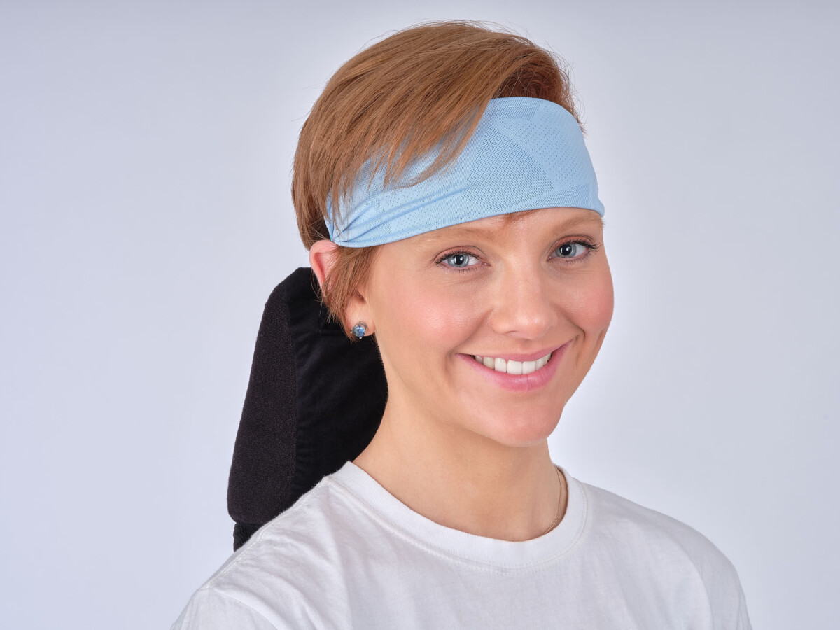 Model with headband 2-Advertising Product Photography