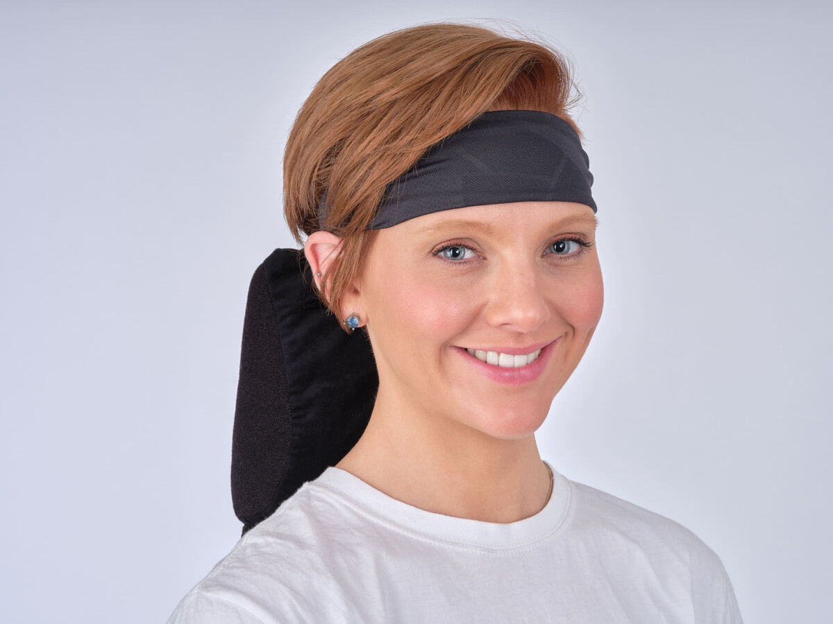 Model with headband 4-Advertising Product Photography