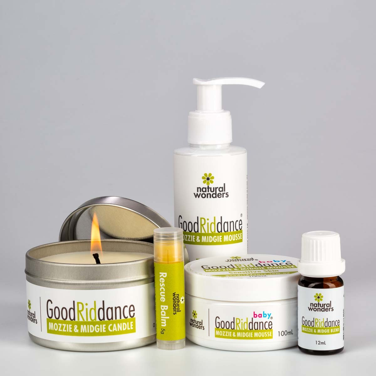 Mosquito repellent products_Nature Wonders Freedom Outdoor Pack Closed together