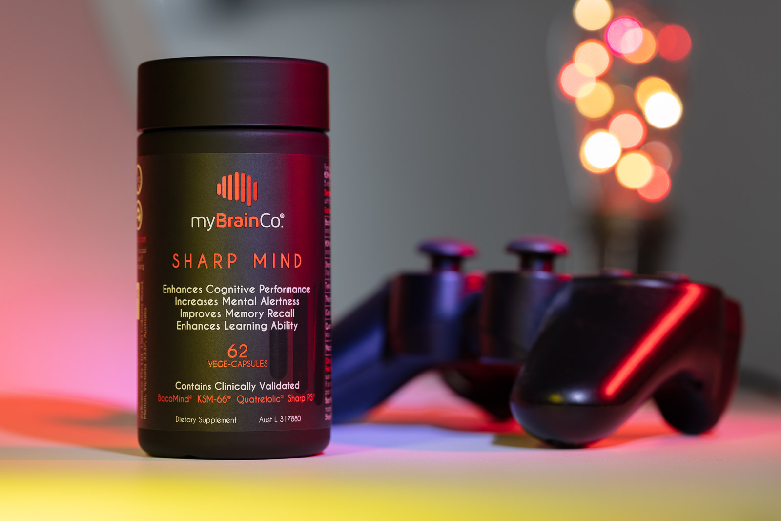 MyBrainCo Sharp Mind Gaming lifestyle