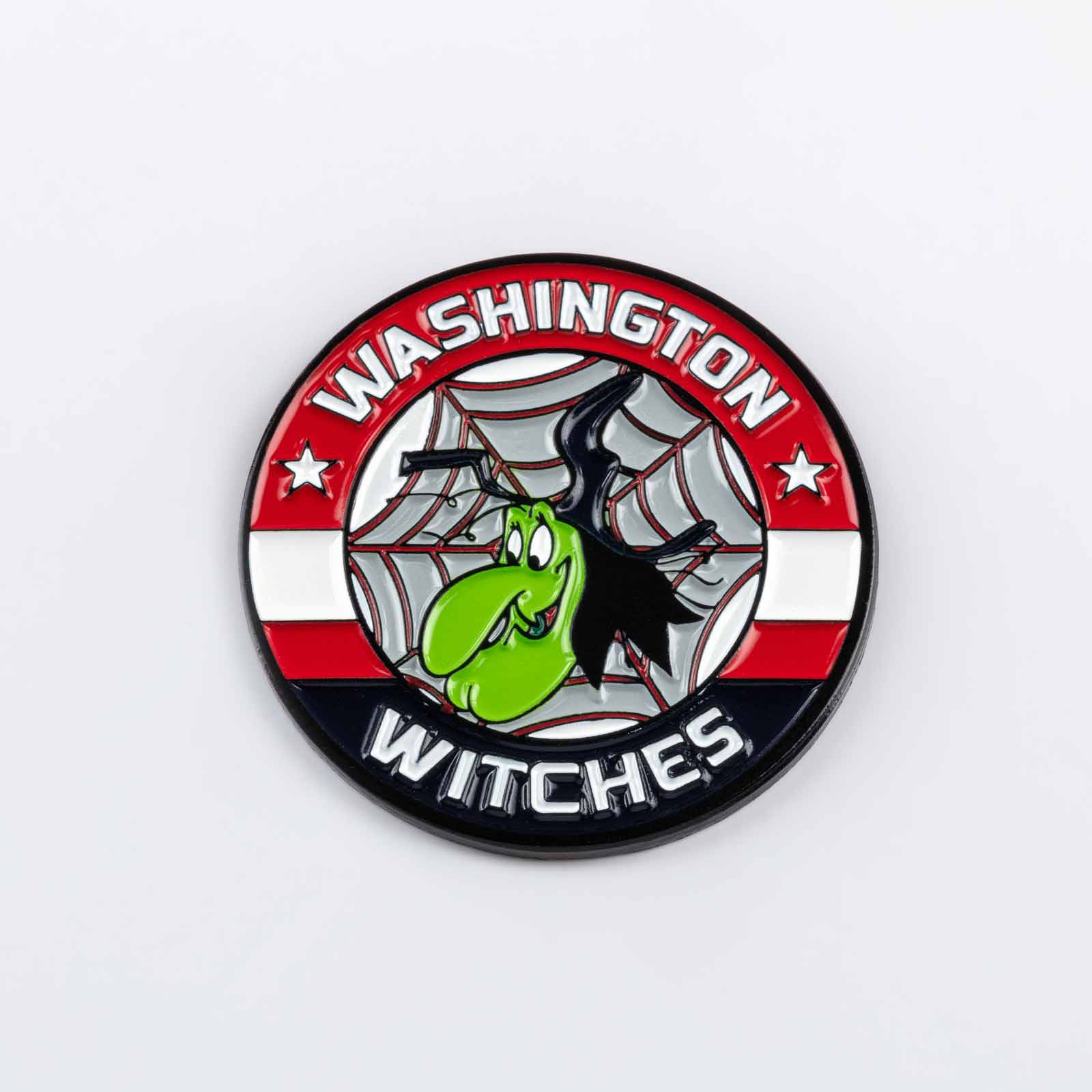 Pin 534 Washington Witches product photography