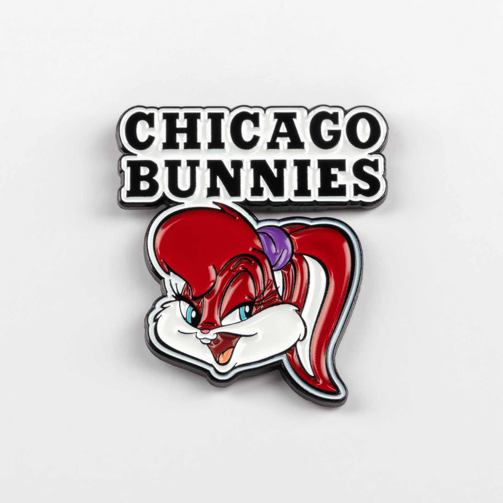 Pins 493 Chicago Bunnies product photography