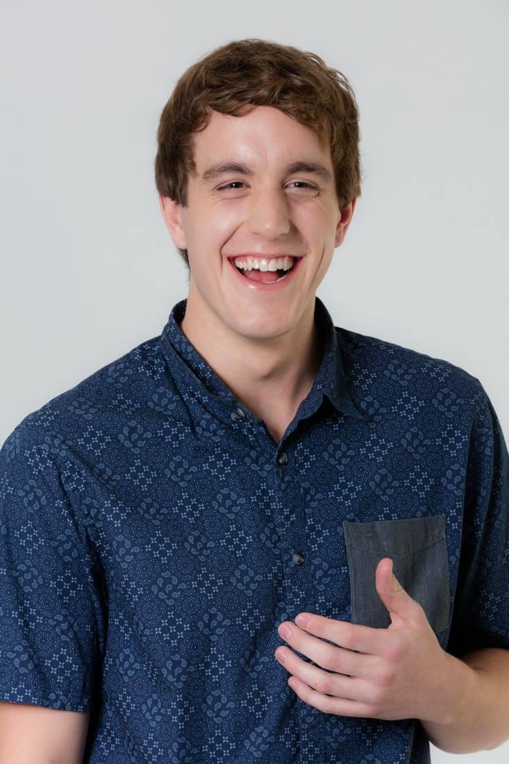 Portrait of actor Josh Blake 1
