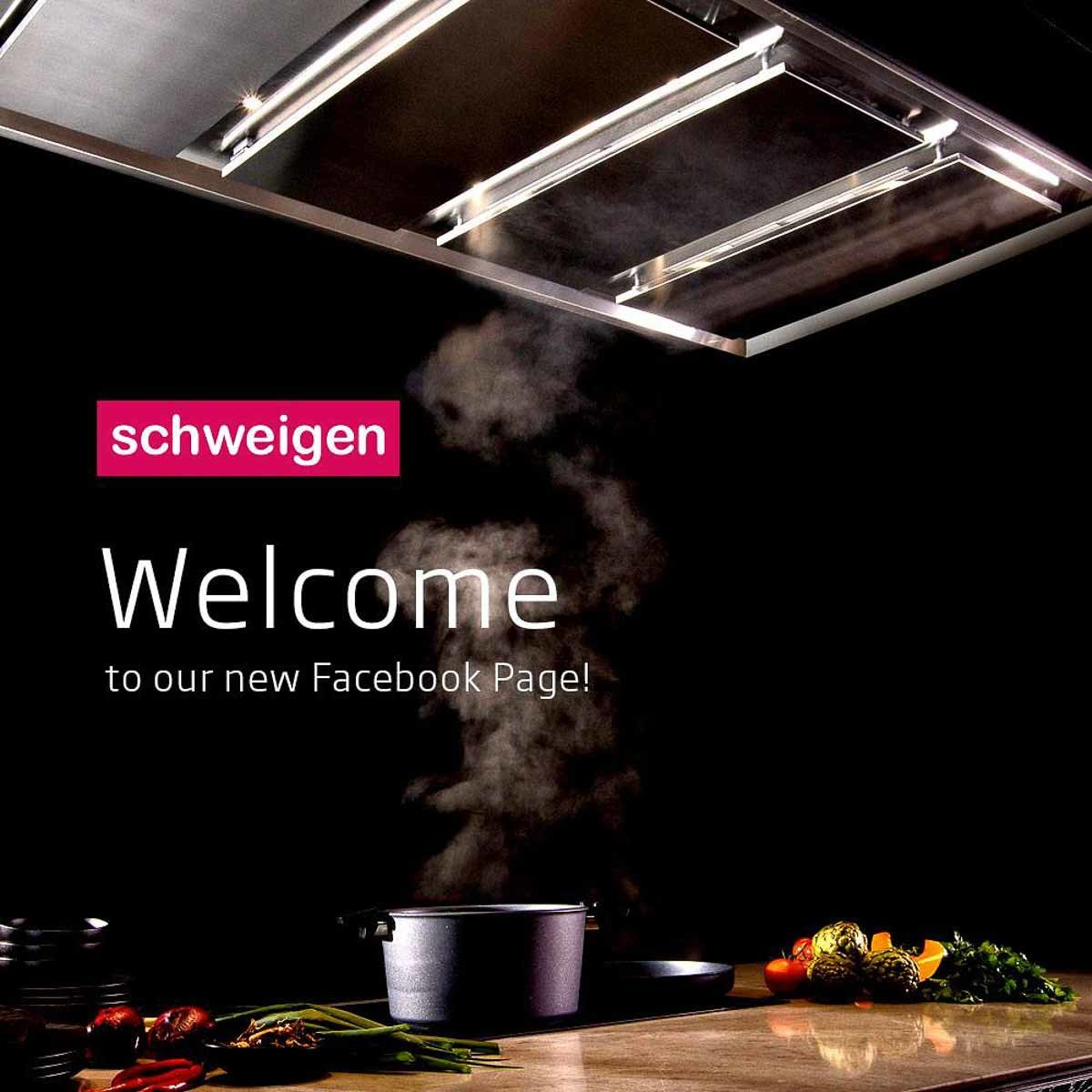 Rangehood lifestyle advertising_Schweigen catalogue and social media
