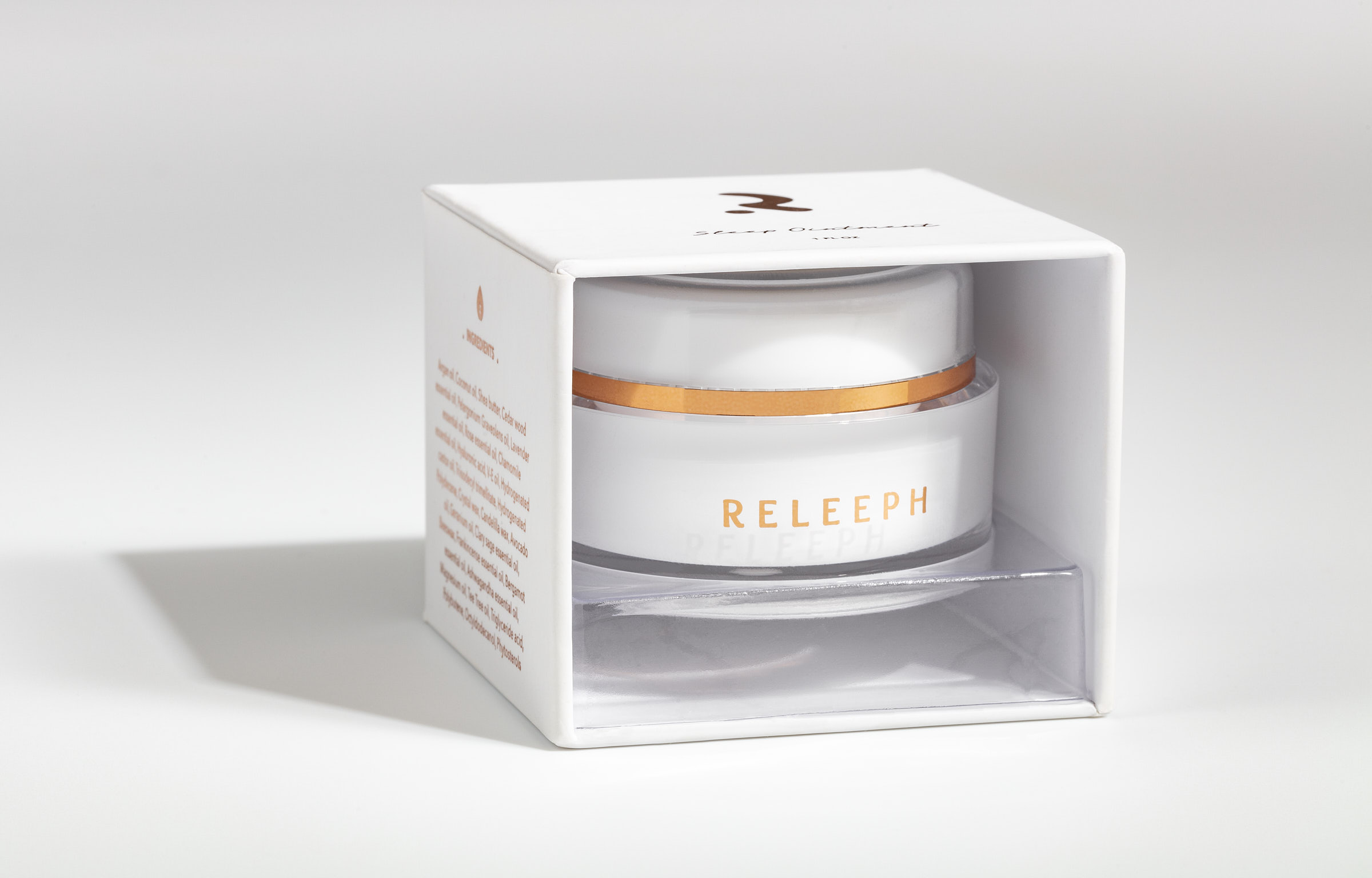 Relleph Cream Solo inside box no plastic cover_Advertising product photography