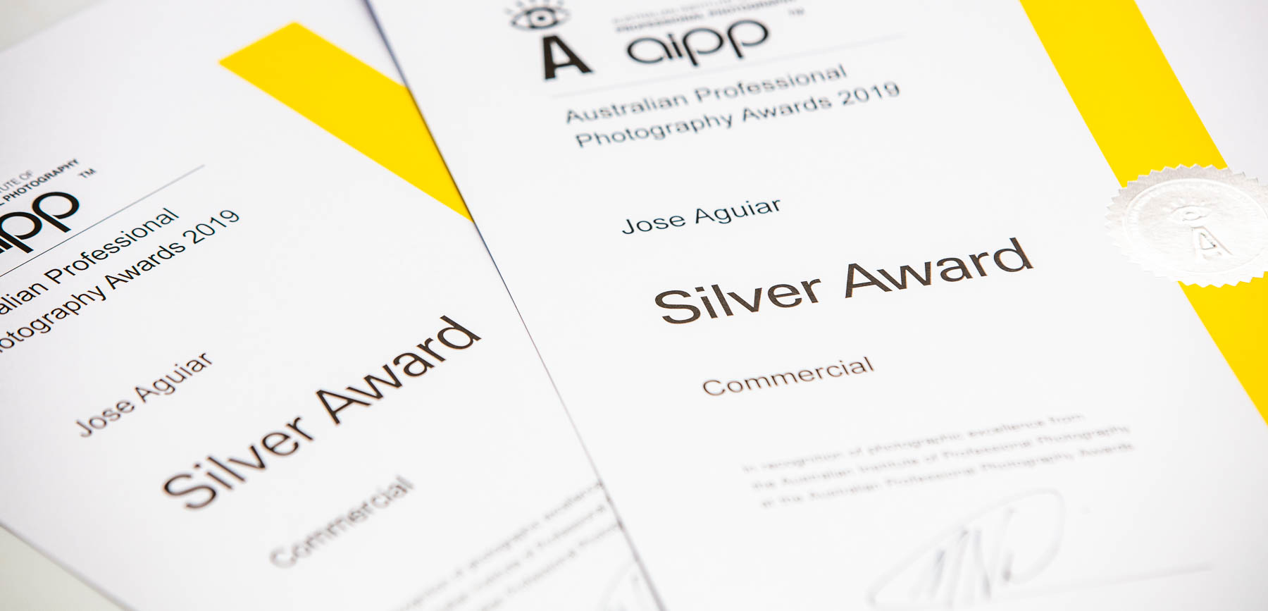 SIlver Awards Certificate APPA 2019