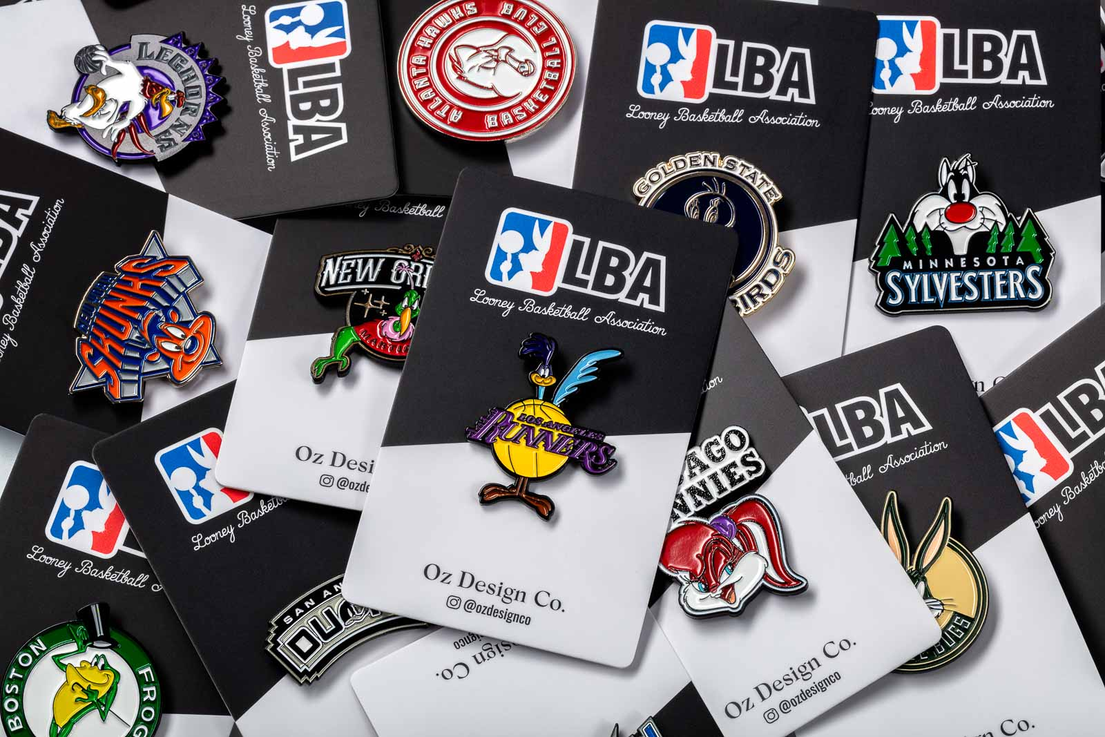Sports Pins 554 Group of Cards product photography